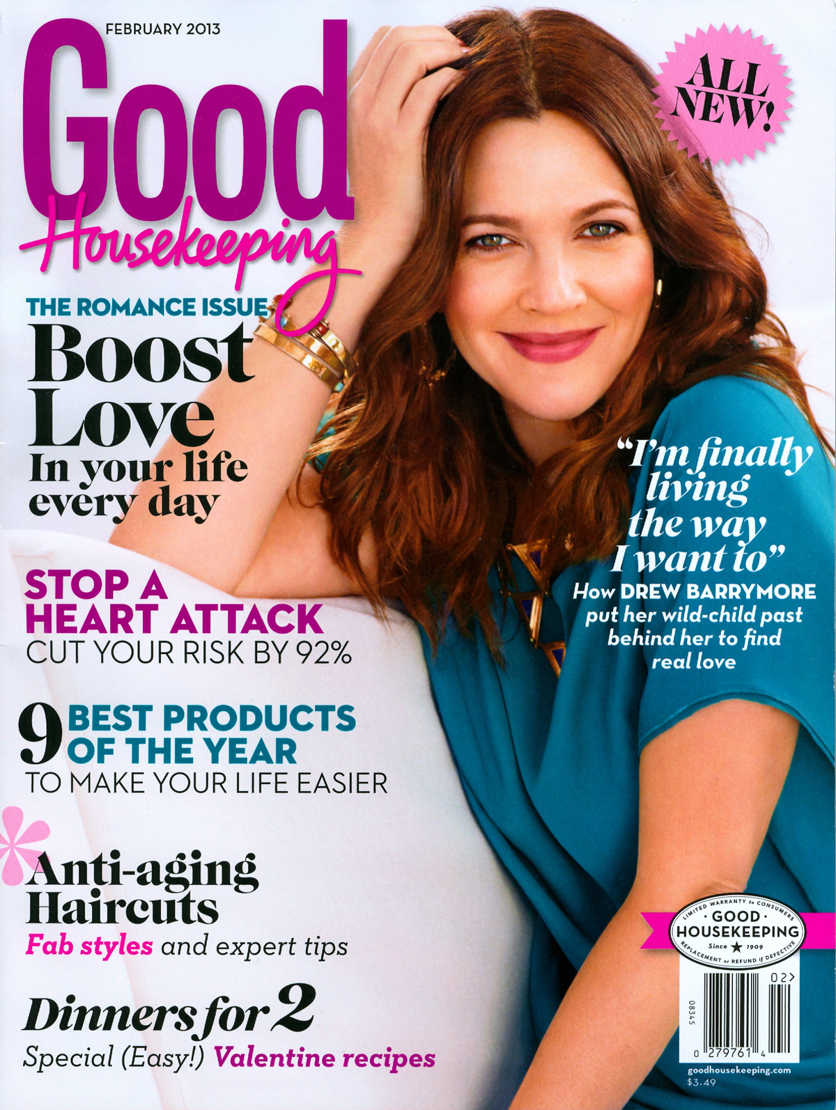 Good Housekeeping Anti Aging Haircuts Jet Rhys