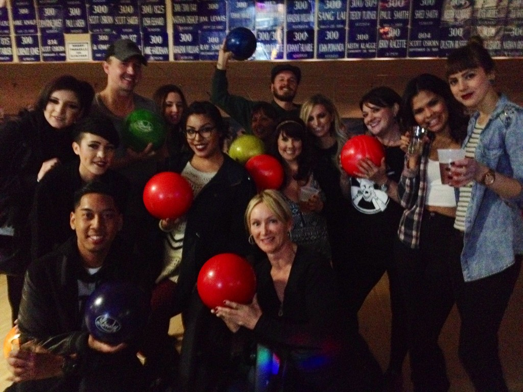 Jet Rhys Team - Bowling Night!