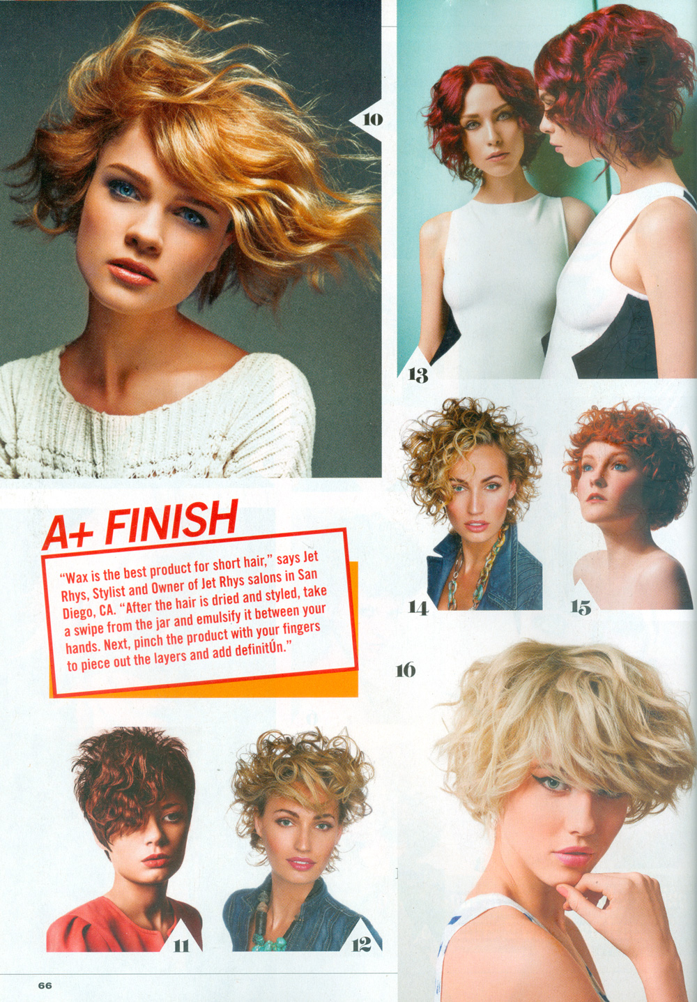 Celebrity Hairstyles Short Hair Style Guide Jet Rhys