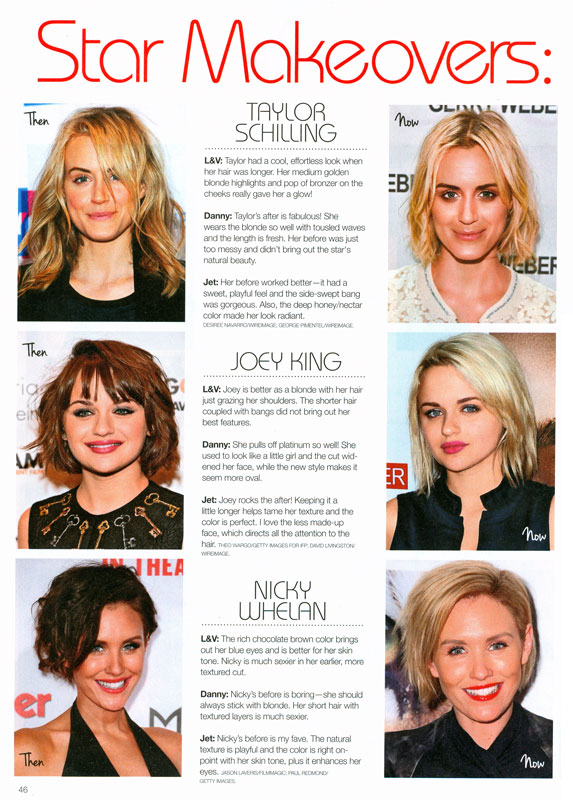 Short Hair Star Makeovers Fab Or Forget It Jet Rhys
