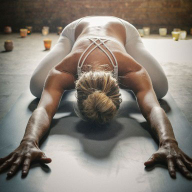 woman-yoga-bun