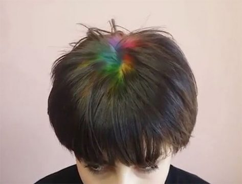 Fun Way to Cover Gray: Rainbow Roots – Jet Rhys